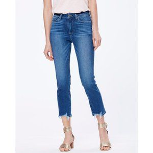 Paige High-Rise Cropped Slim Jeans